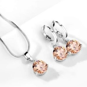 Rose Gold Jewelry Set